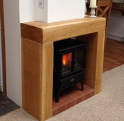 Get Beautiful Oak Fireplace Beams From Altham Oak